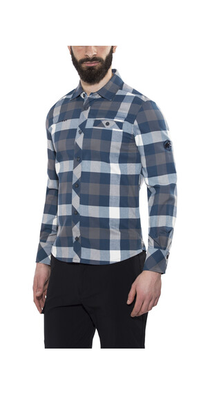 Mammut Belluno Winter Longsleeve Shirt Men titanium-orion